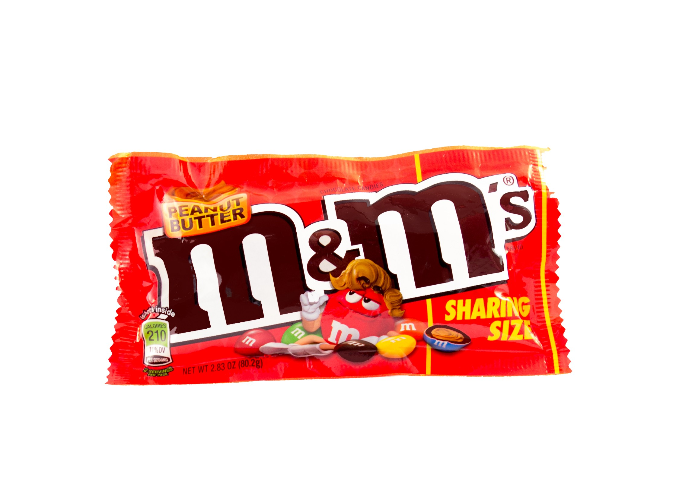 M&M´s Peanut Butter Sharing Size (80,2g)  MHD: 30.07.2019