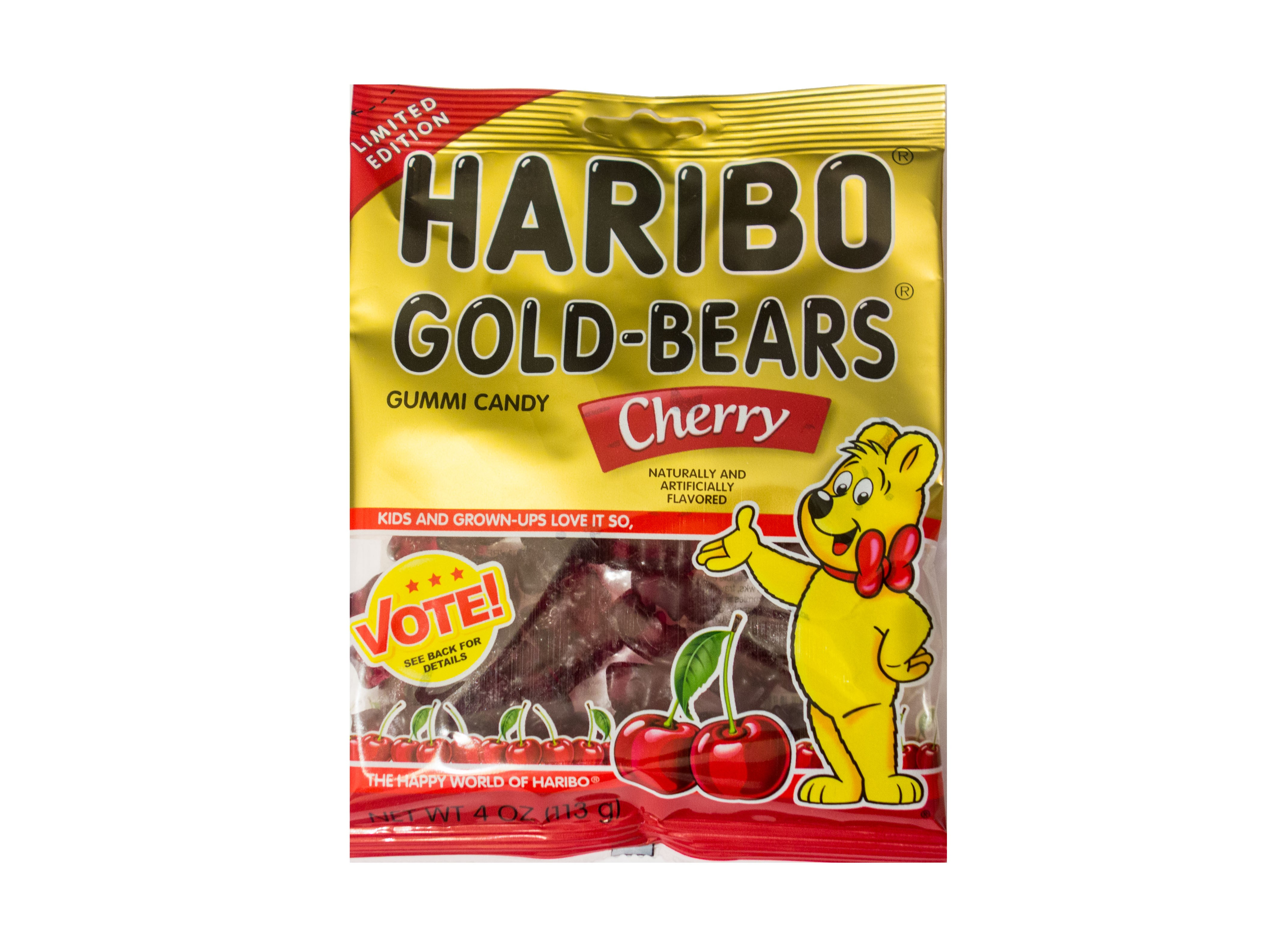 Haribo Gold-Bears Cherry Limited Edition (113g) MHD: 30.04.2018