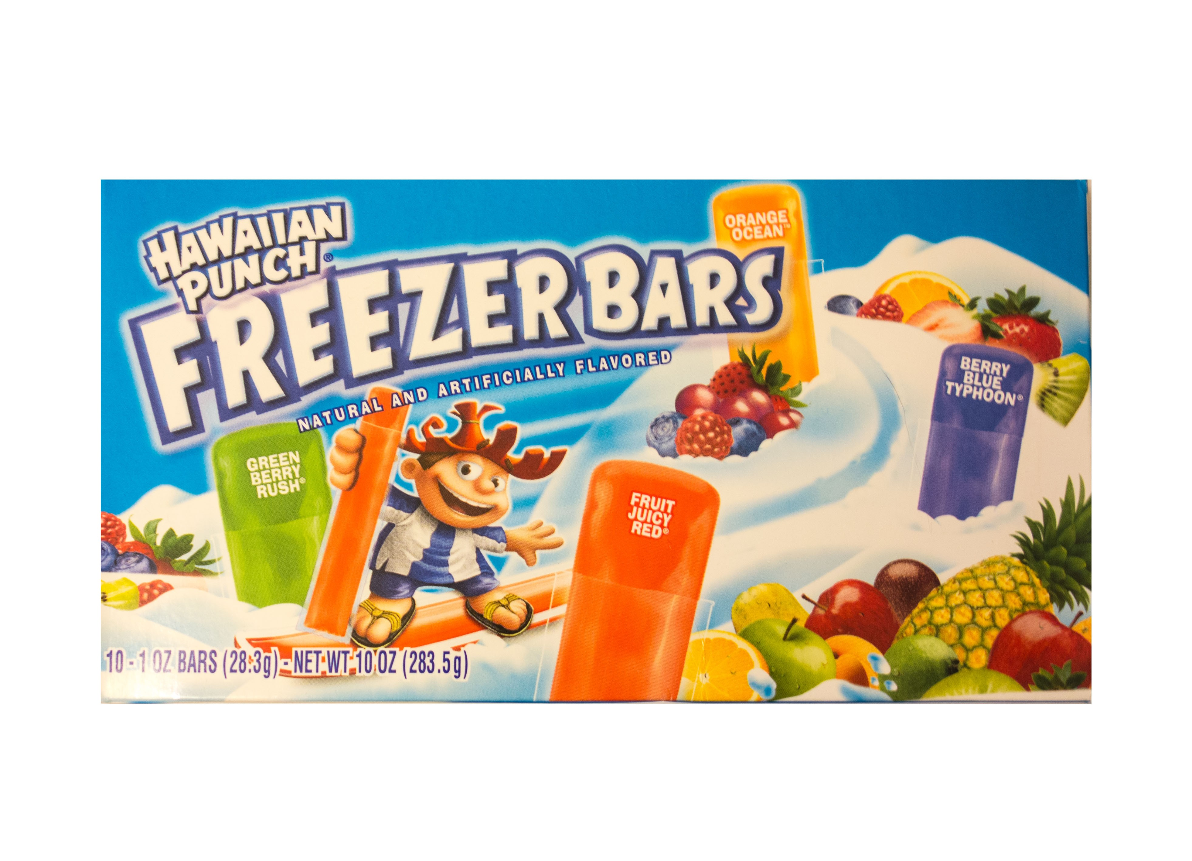 Hawaiian Punch Freezer Bars (283.5g)