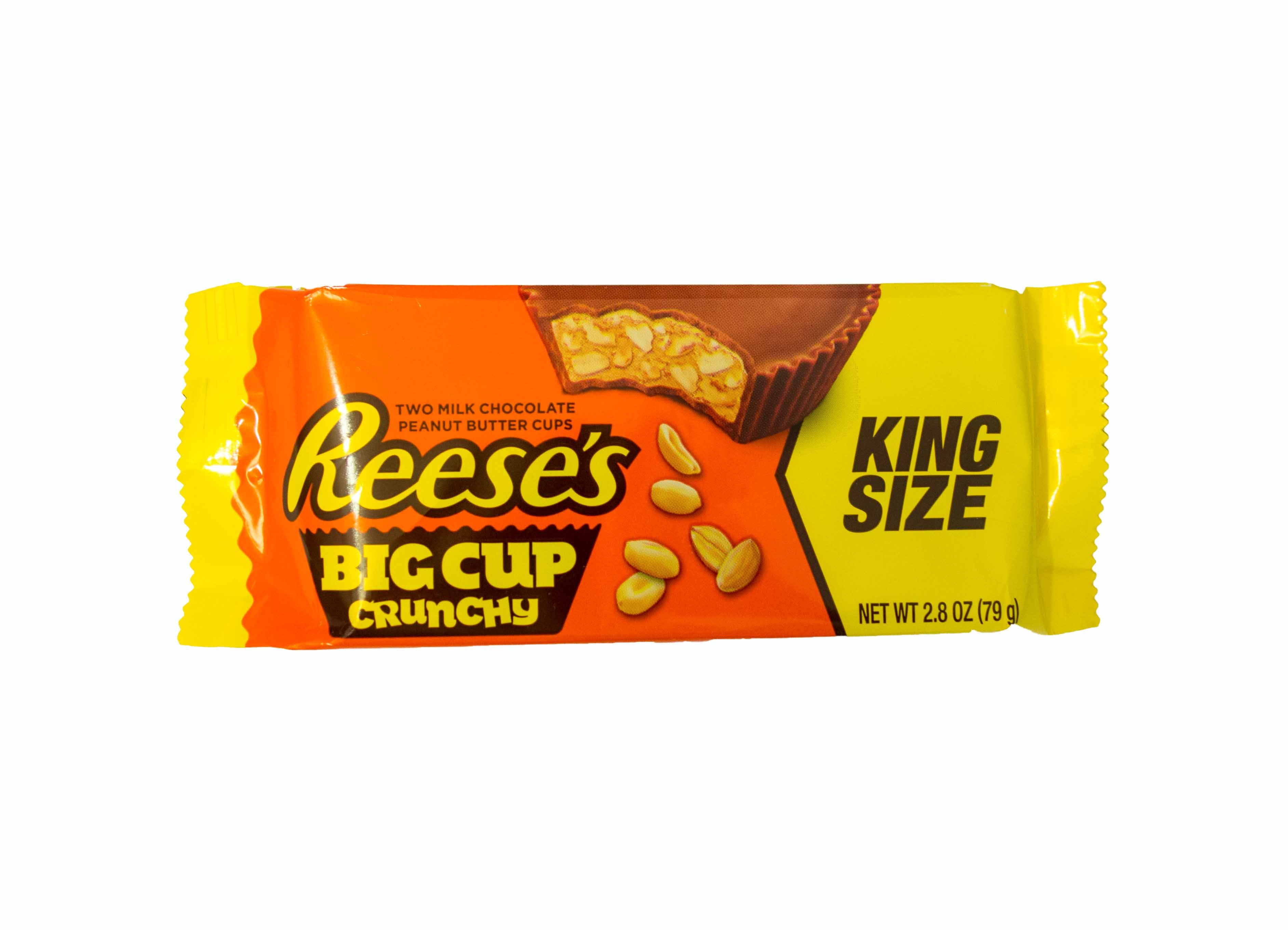 Reese´s Peanut Butter Big Cup Crunchy (King Size) (79g) MHD: 30.09.2018