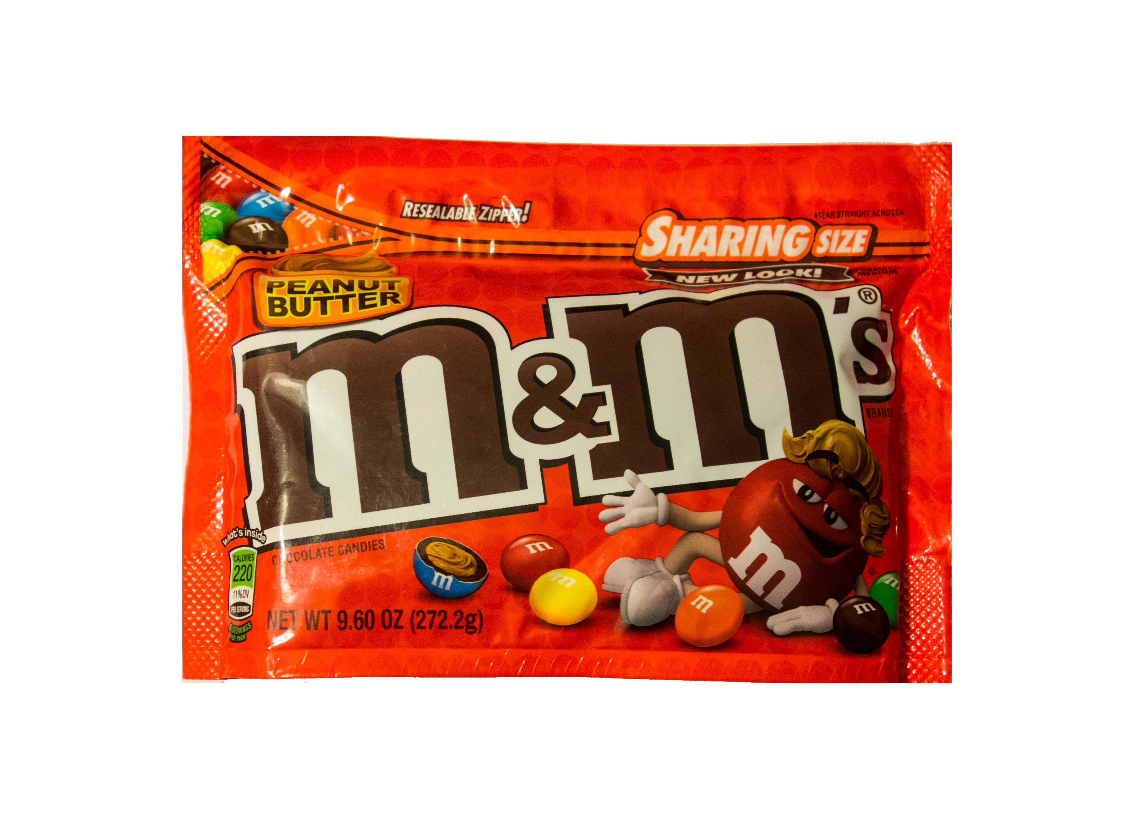 M&M´s Peanut Butter Sharing Size (272,2g)