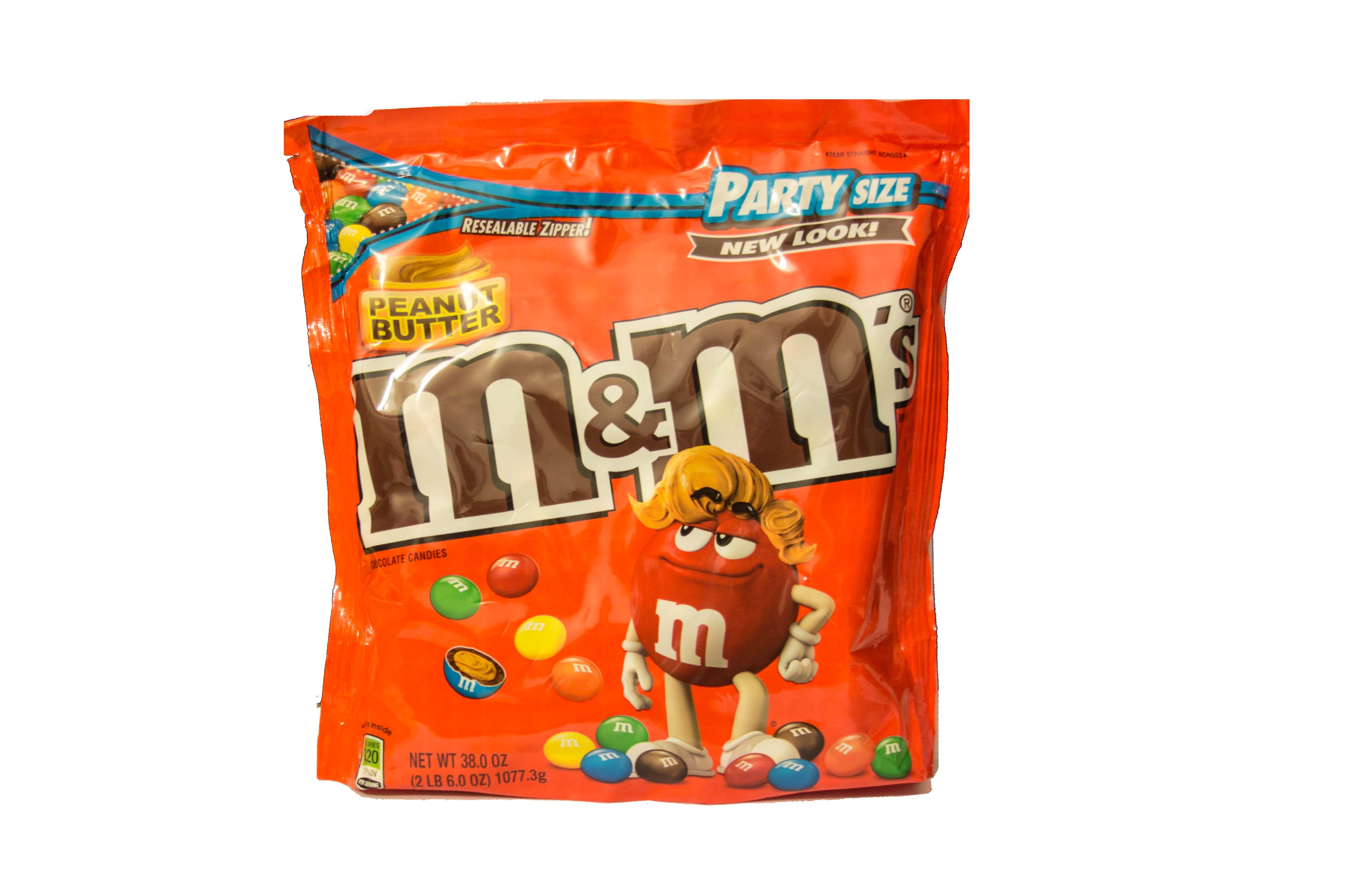 M&M´s Peanut Butter  XXL (1077.3g)