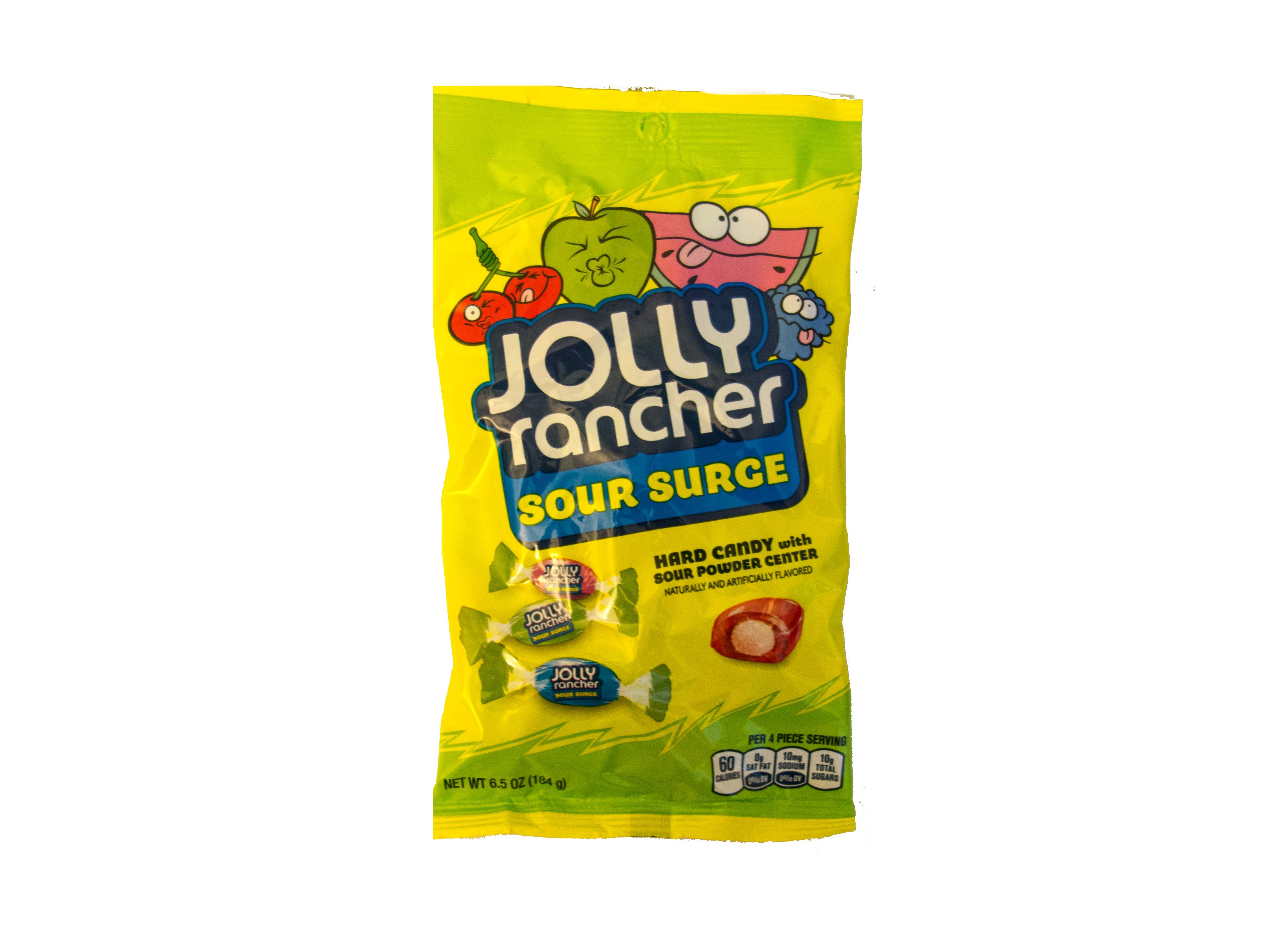 Jolly Rancher  Hard Candy Sour Surge (184g)