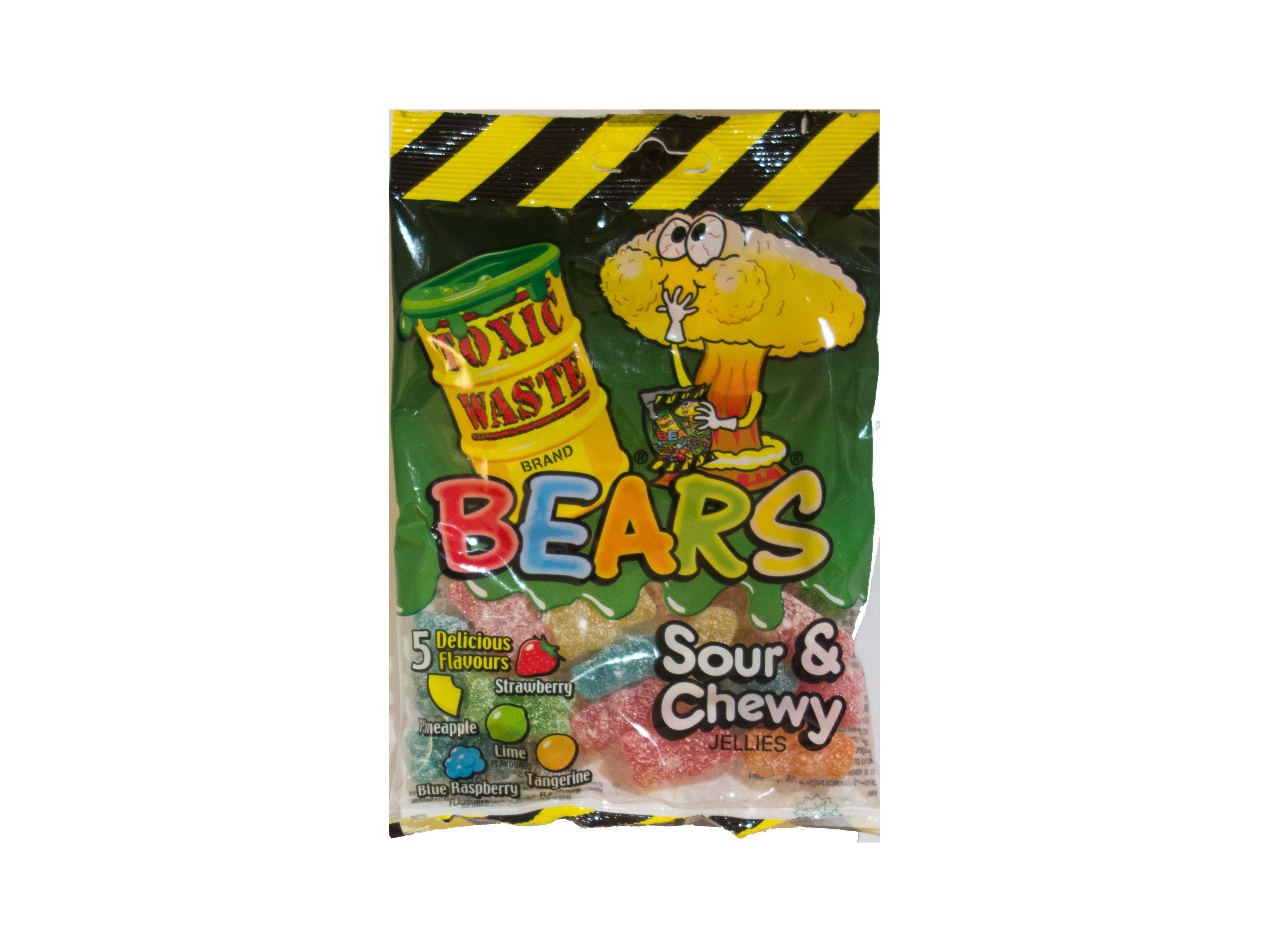 Toxic Waste Bears Sour & Chewy Jellies (142g)
