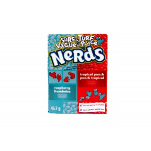 Willy Wonka Nerds Surf &Turf Raspberry & Tropical Punch (46.7g)