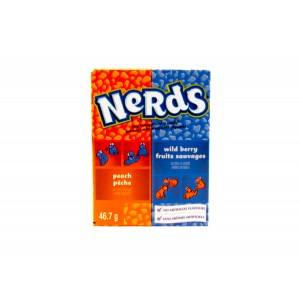 Willy Wonka Nerds Peach & Wild Berry (46.7g)