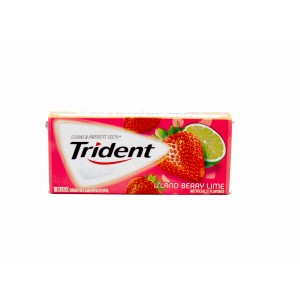 Trident Gum Island Berry Lime (30.6g)