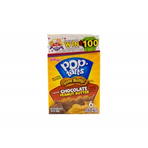 Kellogg´s Pop-Tarts Gone Nutty Chocolate & Peanut Butter (300g)