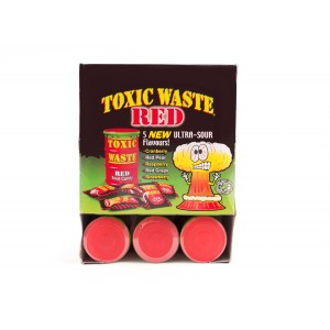 Toxic Waste Red Sour Candy (42g)