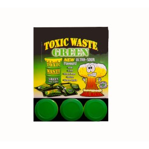 Toxic Waste Green Sour Candy (42g)
