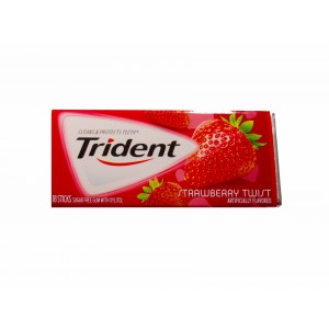 Trident Gum  Strawberry Twist (30.6g)
