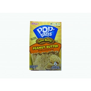 Kellogg´s Pop-Tarts Gone Nutty Peanut Butter (300g)