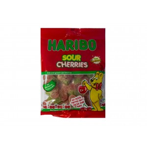 Haribo Sour Cherries (160g)
