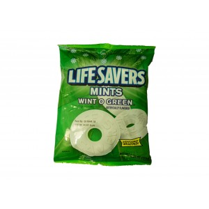 LifeSavers Hard Candy Mints  Wint O Green (177g)
