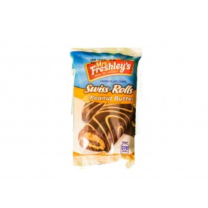 Mrs.Freshley´s  Peanut Butter Swiss Rolls (79g)
