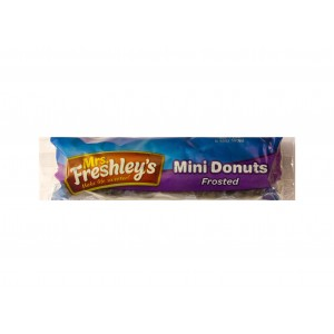 Mrs.Freshley´s Frosted Chocolate mini Donuts (94g)