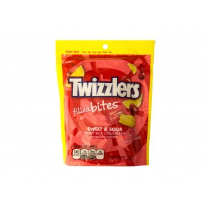 Twizzlers Filled Bites Sweet&Sour Cherry Kick Citrus Punch (226g)