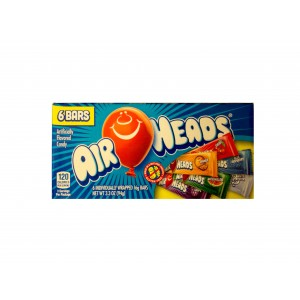 Airheads 6 Flavour Selection Box (94g) MHD: 28.04.2019