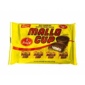 Boyer Milk Chocolate Mallo Cup 8Pack (113.4g)