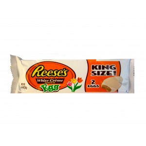 Reese´s White Chocolate  Peanut Butter King Size Eggs (68g