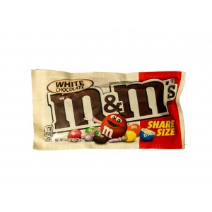 M&M´s White Share Size Chocolate (70g)