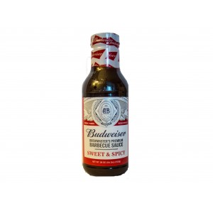 Budweiser Brewmaster´s Premium Barbecue Sauce Sweet & Spicy (510g)