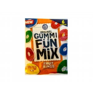 Original Gummi Fün Mix Fruit Rings (142g)