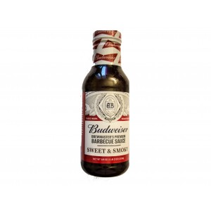 Budweiser Brewmaster´s Premium Barbecue Sauce Sweet & Smoky (510g)