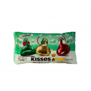 Hershey's Kisses with Almonds Christmas Colours (226g)