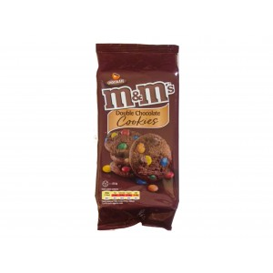 M&M´s Double Chocolate Cookies (180g)