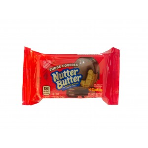 Nutter Butter Fudge Covered (74g)  MHD: 26.08.2019